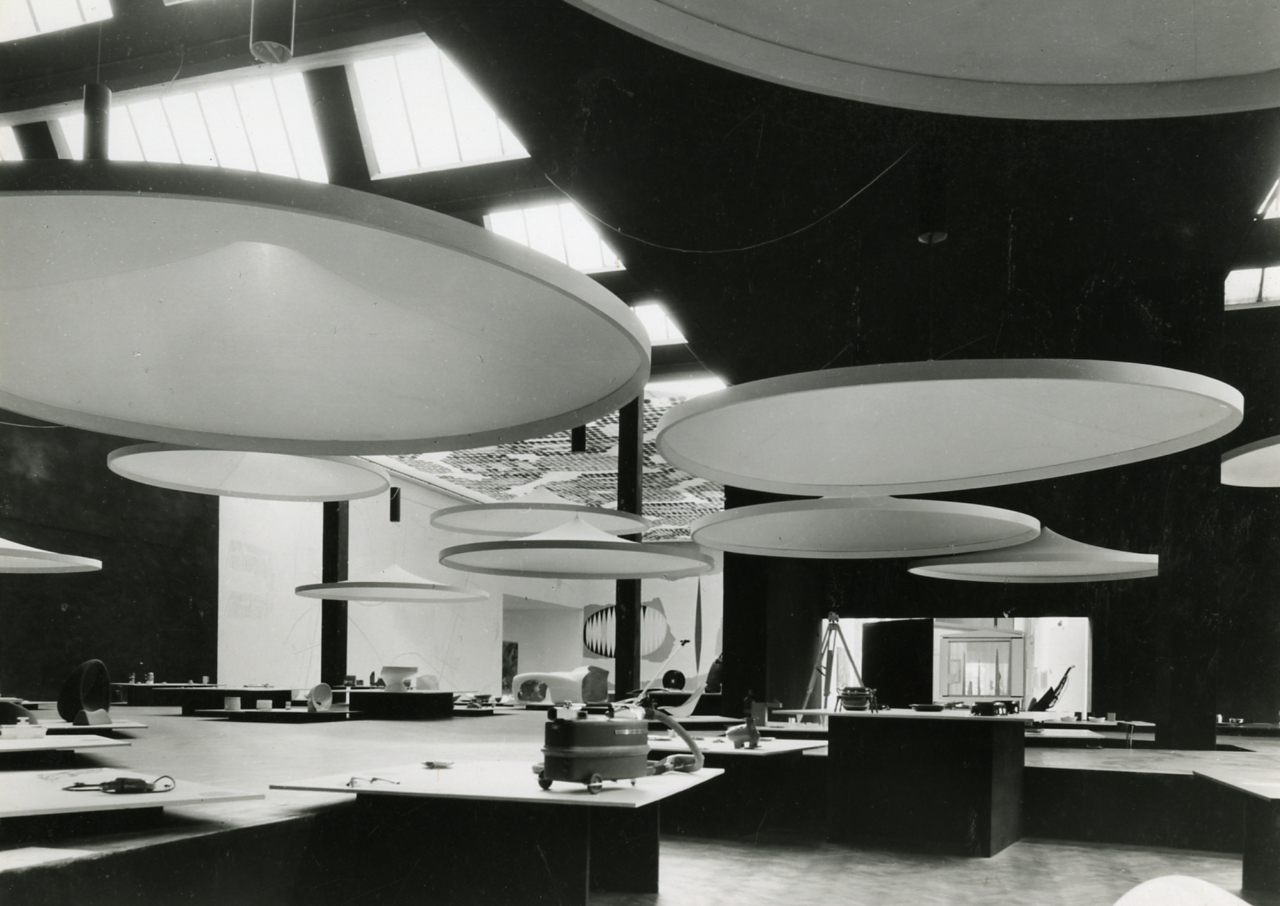 Designer und Architekt Achille Castiglioni