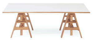 Achille Castiglioni, Tisch auf Böcken