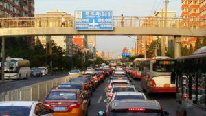 Beijing, Verkehr auf Autobahnring