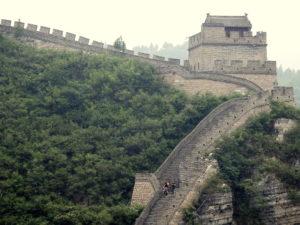Yu Yong Pass, Chinesische Mauer mit Wehrturm