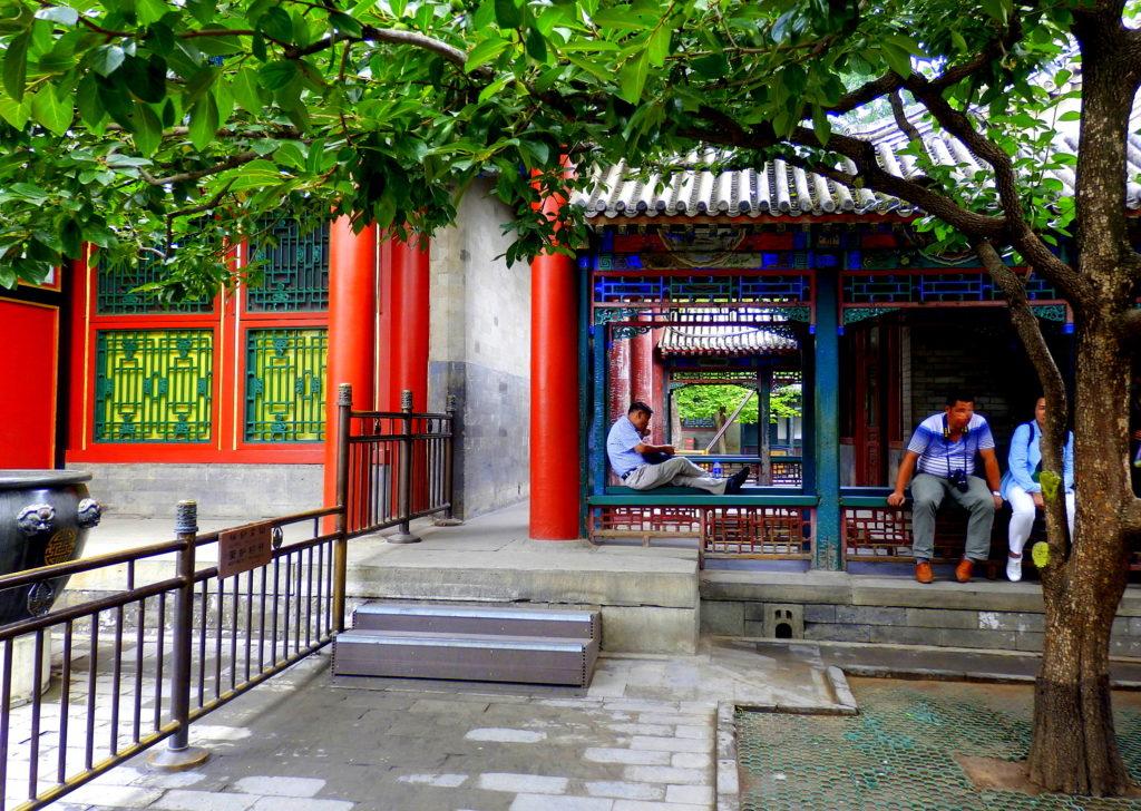 Beijing Sommerpalast, Innenhof
